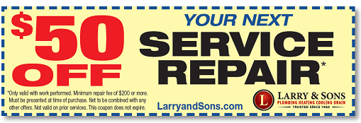 $50 Off Your Next Service