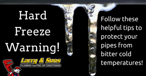 Protect Pipes from Freezing
