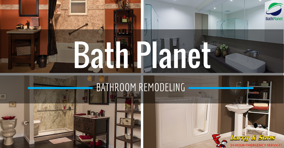 Beautiful OneDay Bath Planet Bathroom Remodeling Larry Sons Enchanting One Day Bathroom Remodel