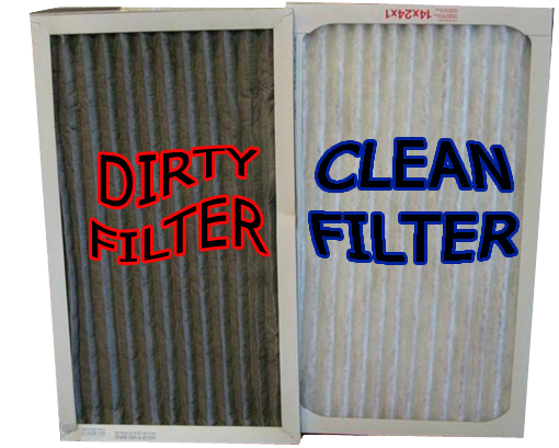 troubleshoot air conditioning air filter