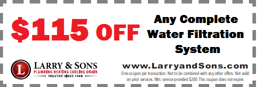 Water Filtration Coupon