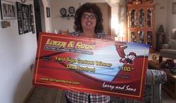 November Contest Winner!