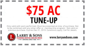 Larry & Sons $75 AC Tune Up