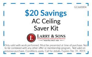 $20 Saving AC Ceiling Saver