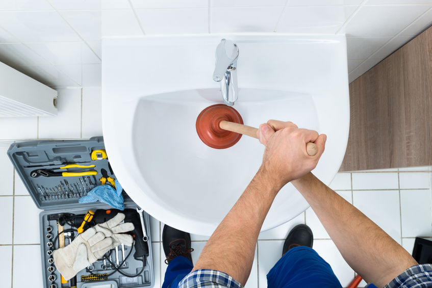 Plumber Fixing Plumbing Issue in Hagerstown MD